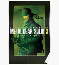 "Metal Gear Solid 3 ""Naked Snake"" Poster Poster"