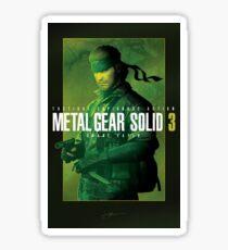 "Metal Gear Solid 3 ""Naked Snake"" Poster Sticker"