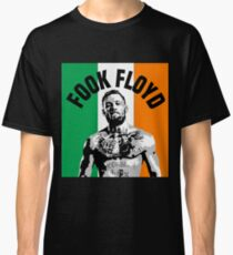 Conor Mcgregor Fook Floyd Flag Classic T-Shirt