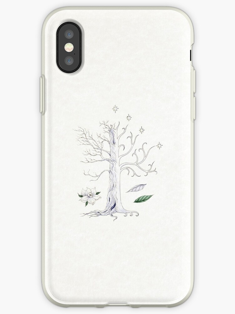 the latest d4be6 7891a 'The White Tree of Gondor' iPhone Case by Mariya Olshevska