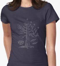 Camiseta entallada El árbol blanco de Gondor