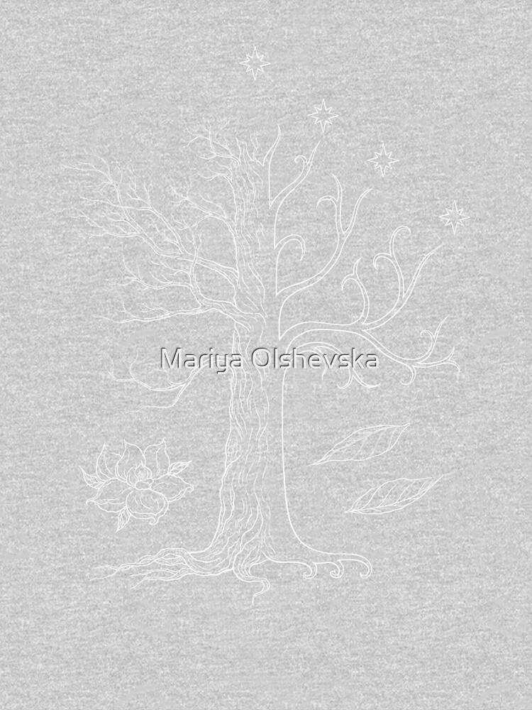 The White Tree of Gondor by OzureFlame