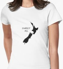 Sweet As Women's Fitted T-Shirt