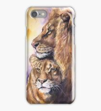 Lions family  iPhone Case/Skin