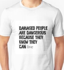 Damaged People  T-Shirt