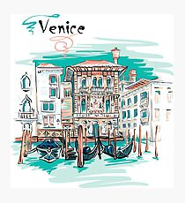 Palazzo in Venice Photographic Print