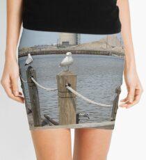 River Seagulls  Mini Skirt
