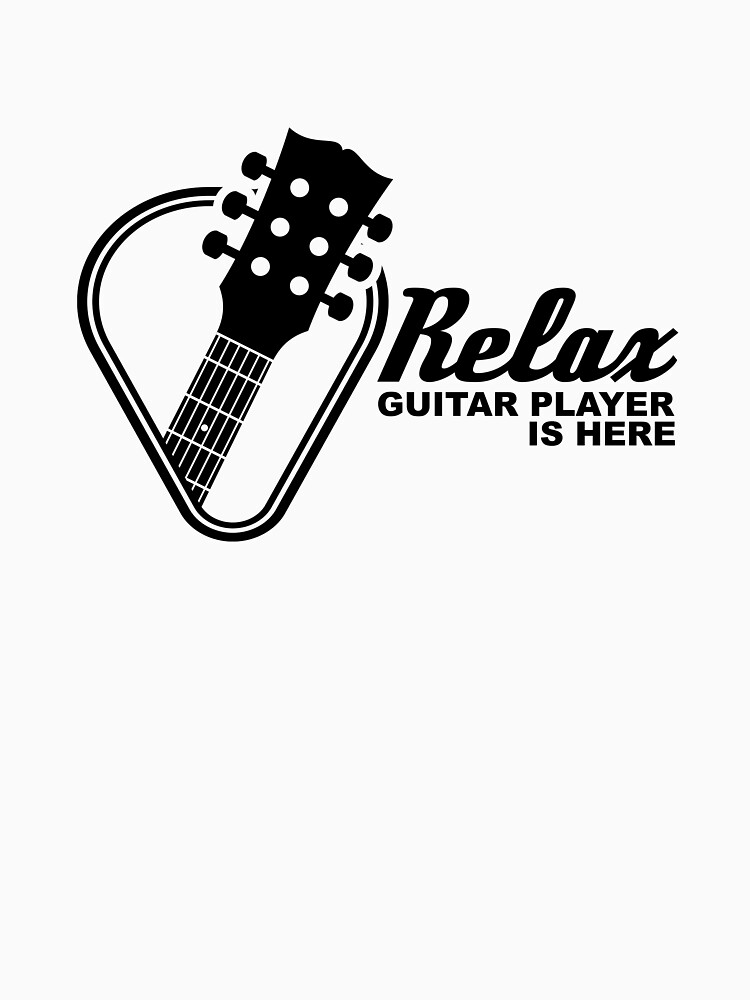 Relax Guitar Player is Here - Rock & Roll Musician by ColeLaniTrading
