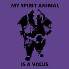 Spirit Animal - Volus by WhoIsJohnMalt