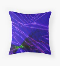 Qpop - Cyberdelic Reality 2 Throw Pillow
