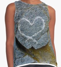 Heart of Stone Contrast Tank