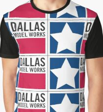 Dallas Model Works logo Graphic T-Shirt