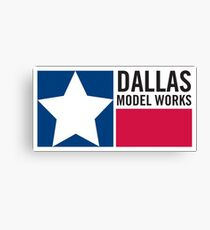 Dallas Model Works logo Canvas Print