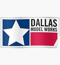 Dallas Model Works logo Poster
