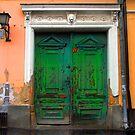 Green door, Szentendre by culturequest