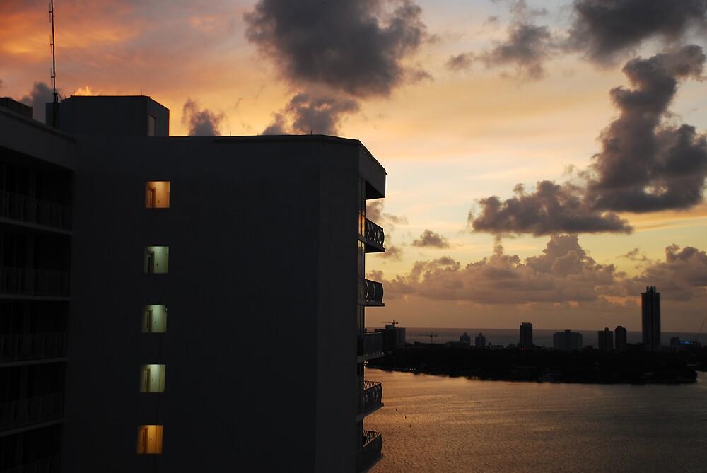 Miami Sunrise by adriangoetz