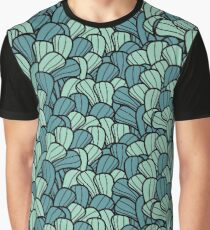 Curves Pattern Graphic T-Shirt