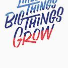 «De Little Things Big Things Grow» de Wes Franklin
