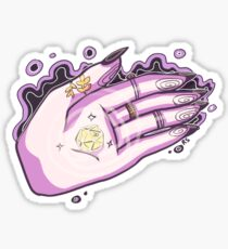 Witchy hand Sticker