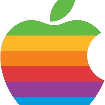 Vintage Apple Logo by Alfiethebossman