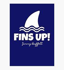 JIMMY BUFFETT - FINS UP!  Photographic Print