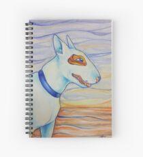 Fauvism Bull Terrier Spiral Notebook