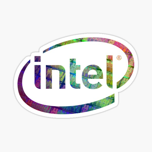 Intel Logo | Silicon CPU Sticker