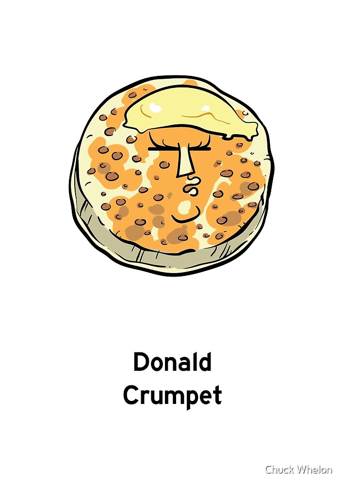 Donald Crumpet by Chuck Whelon