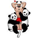 Panda Lover by barebeef