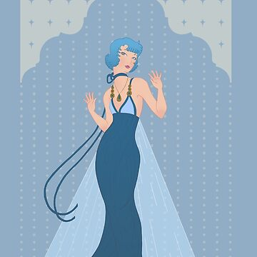 Deco Mercury Princess by Christadaelia