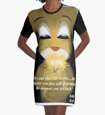 Give and you will receive  Graphic T-Shirt Dress