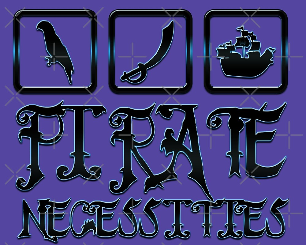 Pirate necessities by Sinmara12