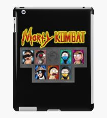 Morty Kombat (realm of the multiverse) iPad Case/Skin