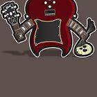 Dr. Frankenstein's Guitar by ayarti