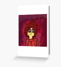 Rasberry Greeting Card
