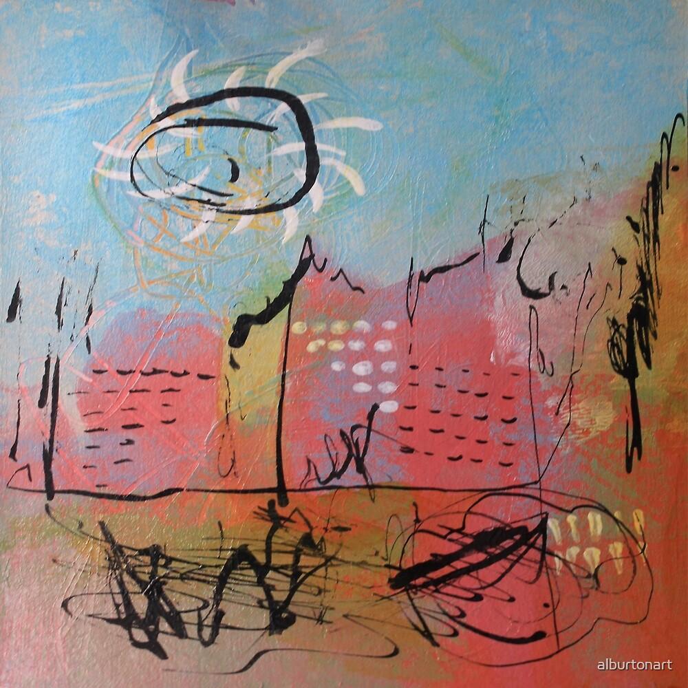 Pink City by alburtonart