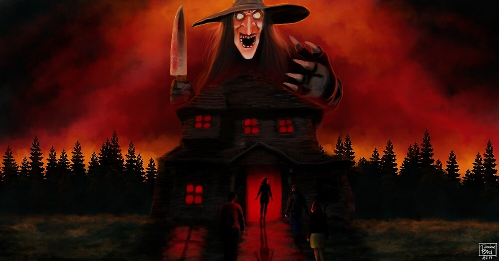 Witch of the Haunted House by ShogunRGB
