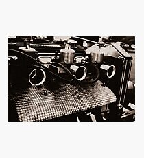 Three Carbs are better than one. Photographic Print