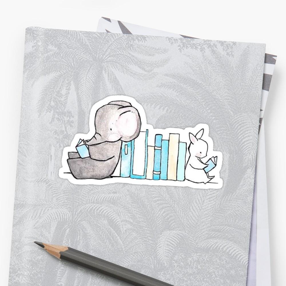 Baby elephant sticker by Katherine S