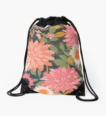 Secret Garden Drawstring Bag