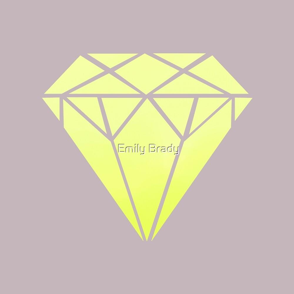 Neon Diamond by Emily Brady