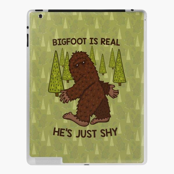 Bigfoot is Real! iPad Skin