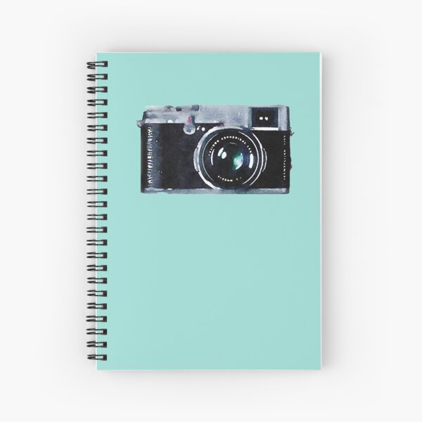 Watercolor Camera | Trendy/Hipster/Tumblr Meme Spiral Notebook