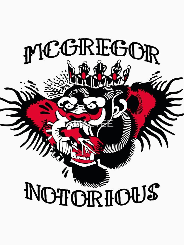 McGregor Gorilla tat by MACTEE