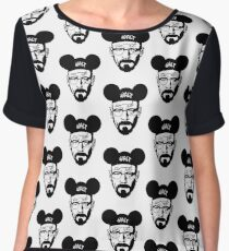WALT MOUSE EARS Women's Chiffon Top