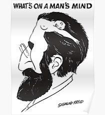 what on a man's mind Poster
