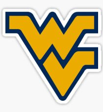 West Virginia Mountaineers Sticker