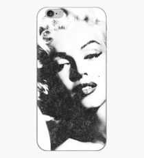Marilyn Monroe in vintage black-n-white iPhone Case