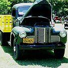 1941 Texas Farm Truck by Glenna Walker