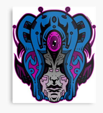 Mind Warp! Metal Print